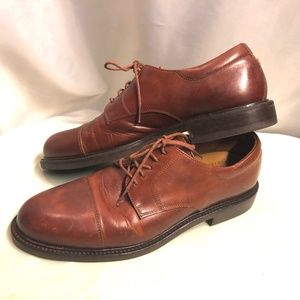 Men's Johnston & Murphy Brown Dress Shoes 12